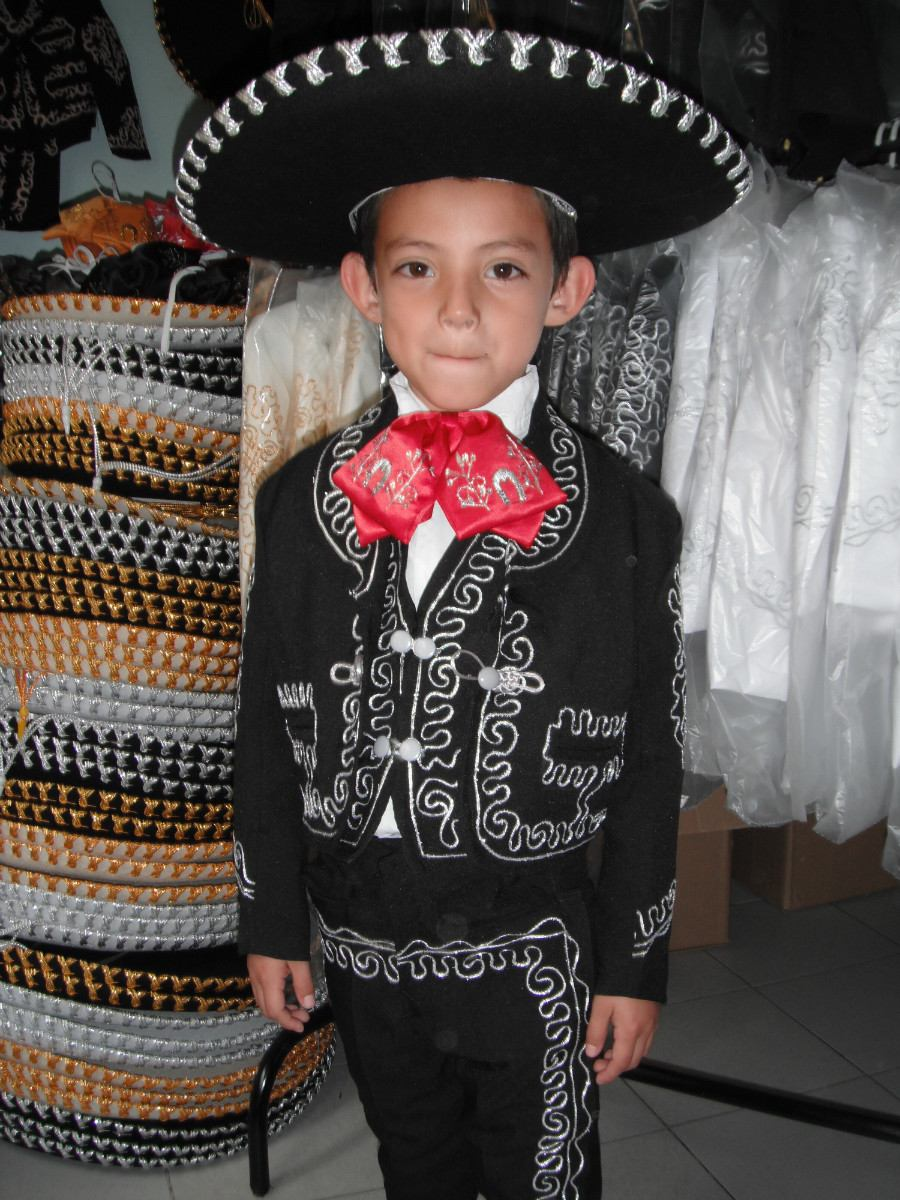 Disfraz de charro para niño d3f018ef146